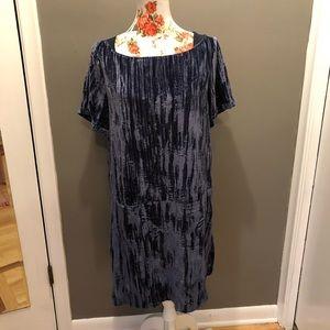 Anthropologie Dresses - Anthropologie Floreat Velvet Shift Dress